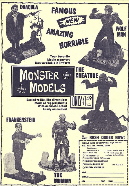 Aurora-model-monster-kit-advert