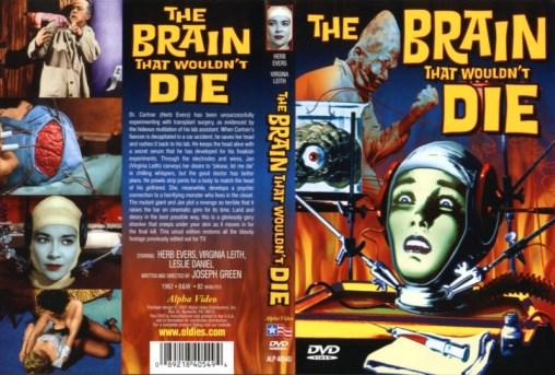 brain that wouldn't die alpha video dvd sleeve