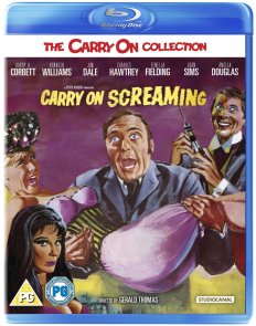 carry on screaming studio canal blu-ray disc