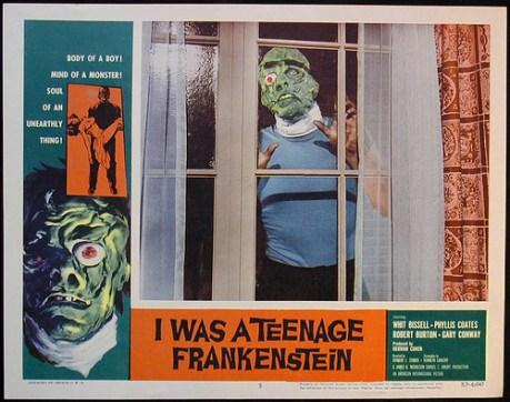 I was a teenage frankenstein