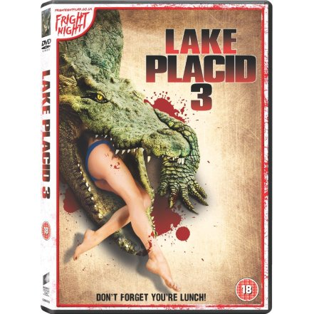 lake placid 3 UK DVD