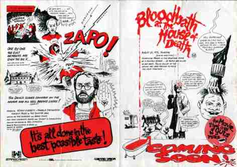 BLOODBATH AT THE HOUSE OF DEATH (1983) Reviews and overview - MOVIES and  MANIA