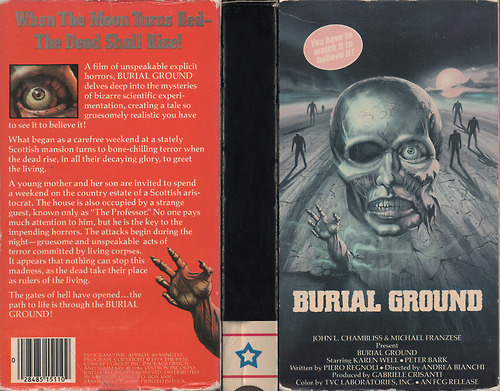 burial ground vhs