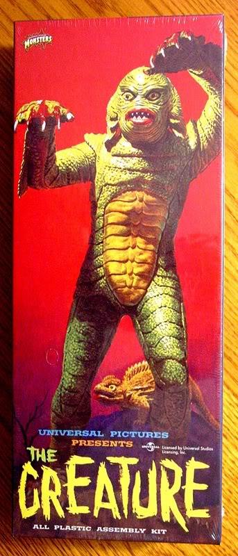 Creature from Black Lagoon plastic monster kit