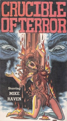 crucible of terror VHS cover