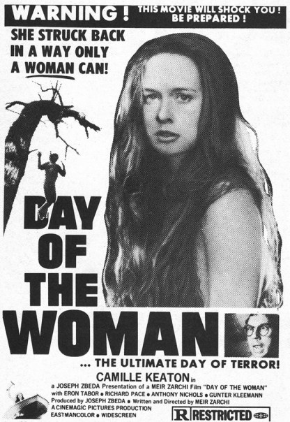 day of the woman I spit on your grave 1978