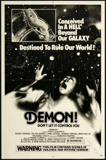Demon-God-Told-Me-To-1976-poster