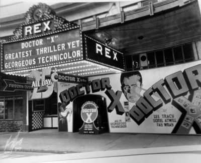 Doctor-X-movie-theater-marquee-ballyhoo-1932