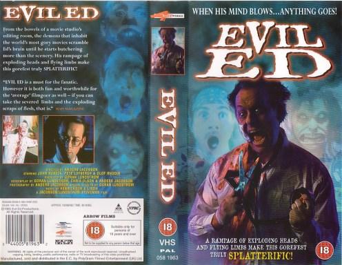 evil ed vhs