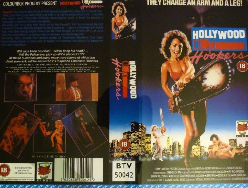 Hollywood Chainsaw Hookers_ VHS