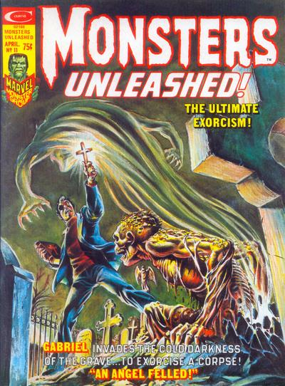 monsters unleashed! no.11 exorcism issue