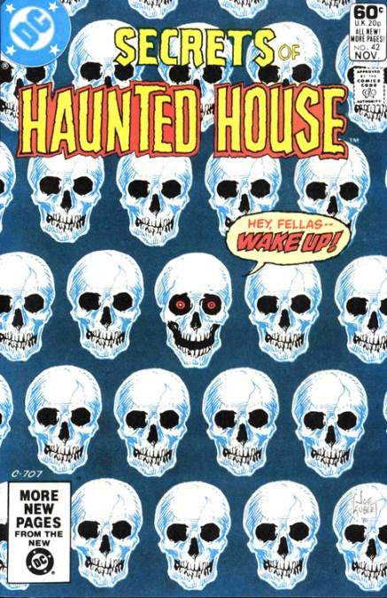 secrets of haunted house DC Comics