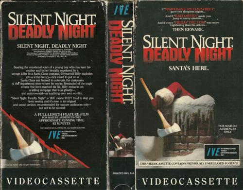 Silent night deadly night vhs