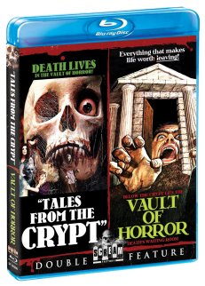 tales from the crypt + vault of horror scream factory blu-ray