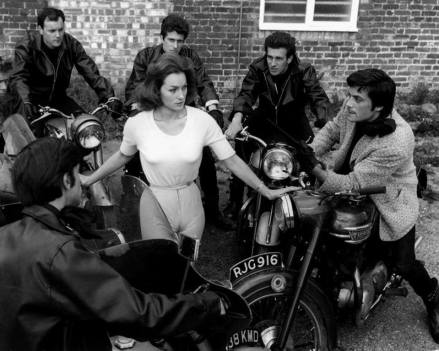the damned 1961 hammer film shirley anne field oliver reed bikers