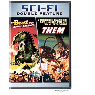 beast from 20000 fathoms + Them DVD double-feature