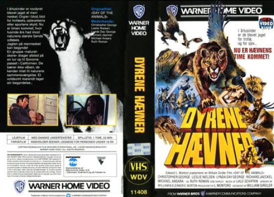 day of the animals vhs