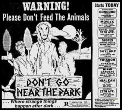 don't go near the park ad mat2
