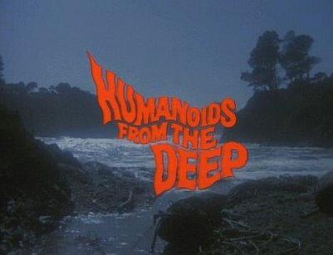 humanoids from the deep title screen