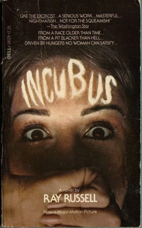 incubus ray russell dell novel movie tie-in