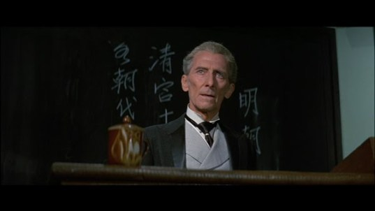 Legend of the 7 Golden Vampires Van Helsing Peter Cushing