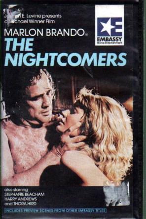 nightcomers vhs