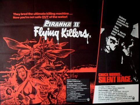 Piranha-II-Silent-Rage-British-quad-poster