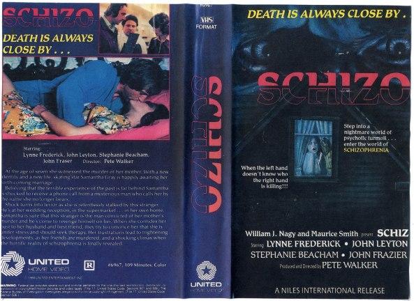 Schizo VHS cover