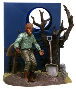 Wolf Man Box Set Figure Universal Studios