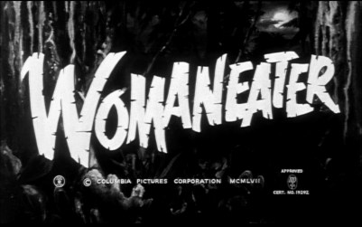 Womaneater title screenshot
