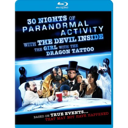 30 nights of paranormal activity with the devil inside the girl with the dragon tattoo blu-ray discjpg