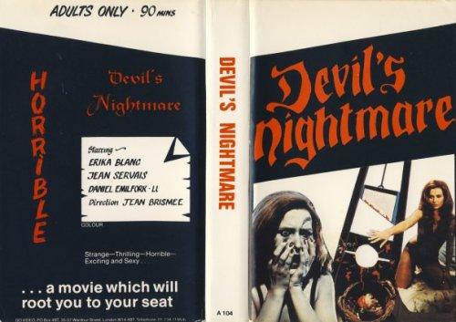 devil's nightmare british VHS sleeve