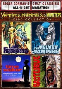 Lady-Frrankenstein-Velvet-Vampire-Time-Walker-Grotesque-Roger-Corman's-Cult-Classics-DVD