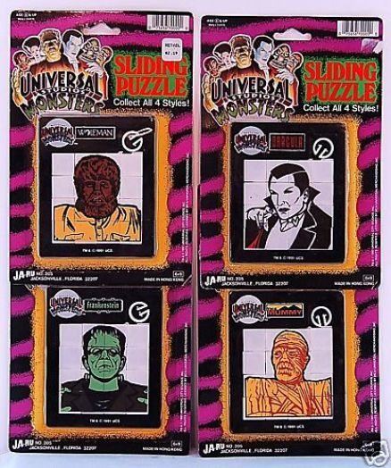 Universal-Monsters-Sliding-Puzzle