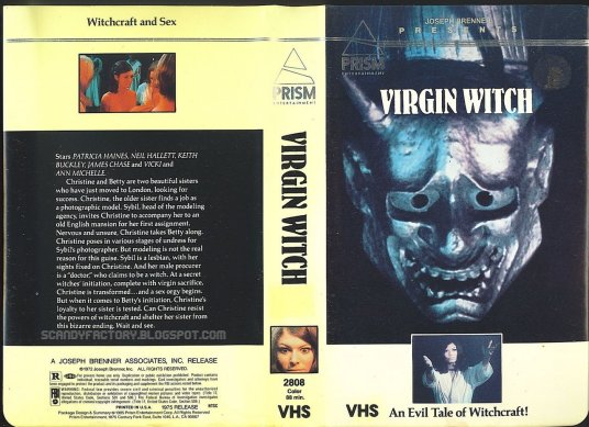 virgin witch prism vhs sleeve