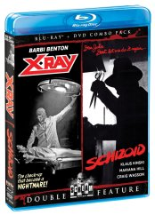 x-ray + schoizoid scream factory blu-ray disc cover