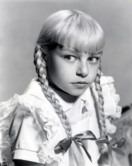 Patty McCormack as Rhoda Penmark - The Bad Seed 1956 - by Bert Six