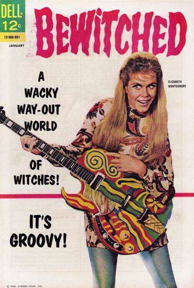 bewitched elizabeth montgomery wacky way-out witches groovy