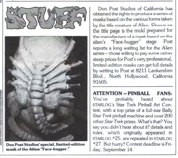 Fangoria Magazine news report
