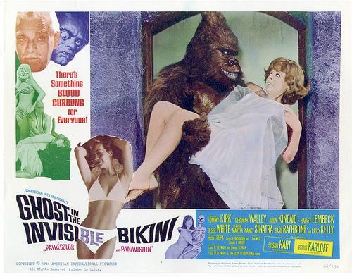 ghost in the invisible bikini still gorilla