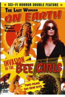 last woman on earth + invasion of the bee girls dvd