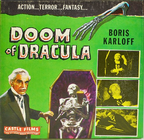 Doom of Dracula (via House of Frankenstein) Super 8 Film box
