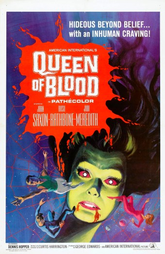 queen of blood poster 1966