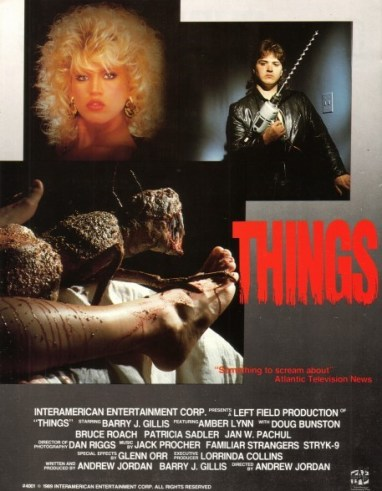 things 1989 movie poster