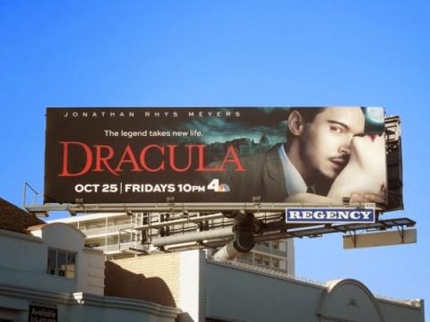 dracula TV remake billboard