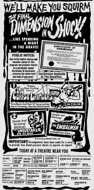 horror_triple_feature_corpse grinders_undertaker_and_his_pals_the_embalmer_ad