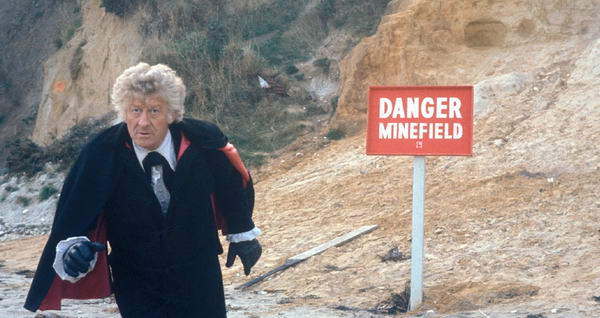 The Sea Devils Jon Pertwee Doctor Who