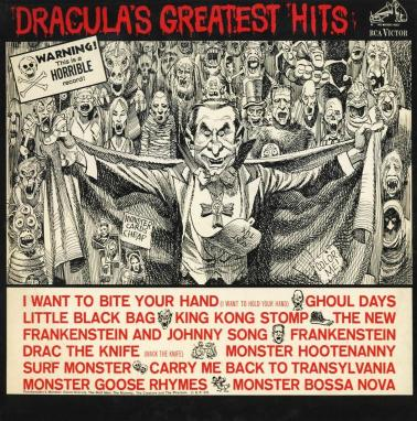 Dracula's-Greatest-Hits-album-Jack-Davis-artwork