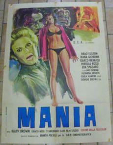 mania ralph brown renato polselli poster