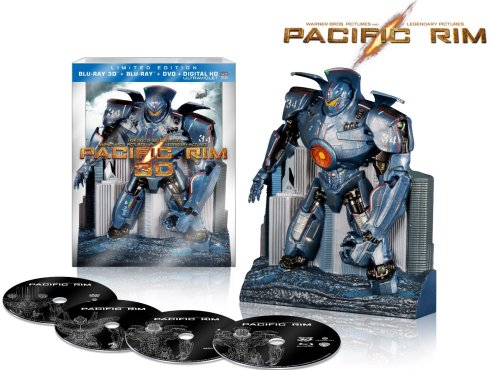pacific rim limited edition blu-ray 3D